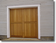 carriage style overhead door
