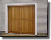 Doors for garage or carriage house